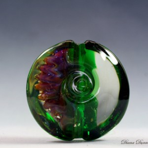 Lampwork Glass Focal Bead