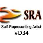 Self-Representing Artist #D34 logo
